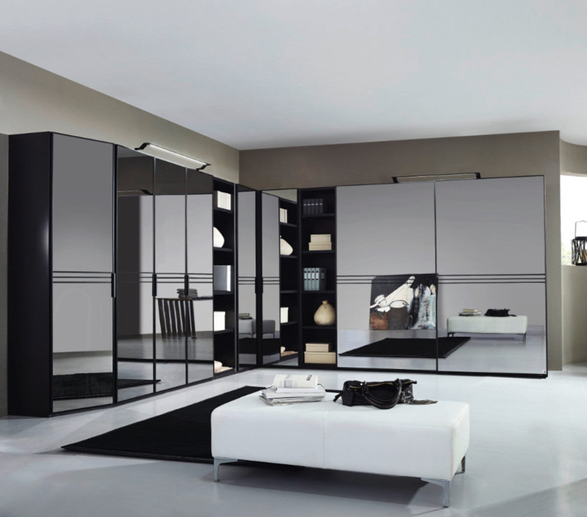 Cost Of Fitted Wardrobes: Semi-Fitted Wardrobes In Liverpool